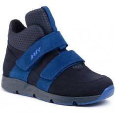 Sneakersy BARTEK - 67018P/SZ-SAA Niebieski - Outdoorová obuv - Kotníkové a jiné - Chlapec - Dětské - eobuv.cz Sneakers, Color Azul, Shoes, Outdoor, Fashion, Templates, High Standards, Flat Booties, Natural Leather