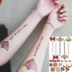 Mini Tattoos, Love Tattoos, Body Art Tattoos, New Tattoos, Sailor Moon Tattoos, Tattoo Ideas, Tattoo Designs, Sailor Moon Cosplay, Sternum Tattoo