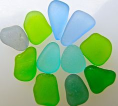 Sea Glass or Beach Glass of Hawaii's beaches by SeaGlassFromHawaii SALE - $434 11/24. Double click the photo to purchase. RARE COLORS!