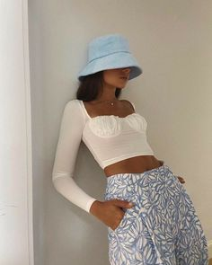 Outfits With Hats, Cute Casual Outfits, Funky Outfits, Mode Pastel, Mode Dope, Look Fashion, Fashion Outfits, 2000s Fashion, Girl Fashion
