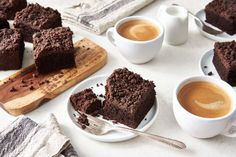 A moist, dense, richly chocolate-y coffeecake worthy of a blue ribbon. Just Desserts, Dessert Recipes, Dessert Bread, Streusel Topping, Chocolate Flavors, Chocolate Cake, Sweet Bread, Coffee Cake, Baking Recipes