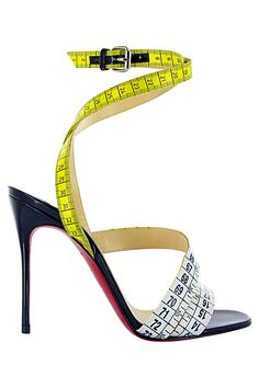 Louboutin <3 !!!!!!!/Dorothy Johnson. Like the idea, but could never wear these.