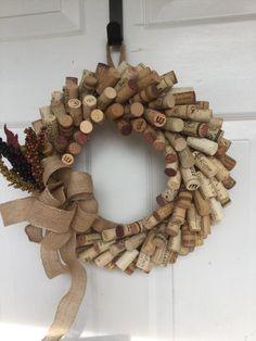 Wine Cork Wreath More