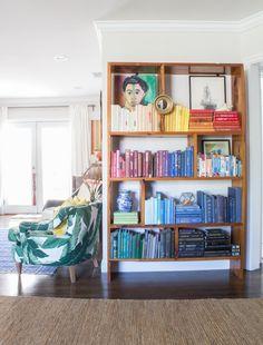 Adrien & Jon's Adventurous California Home - that bookcase