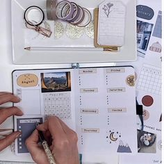 Plan with me in my bullet journal with my newly released printable kit. Filled with stickers and ephemera Bullet Journal School, Planner Bullet Journal, Bullet Journal Writing, Bullet Journal Aesthetic, Bullet Journal Ideas Pages, Bullet Journal Printables, Junk Journal, Study Journal, Journal Stickers