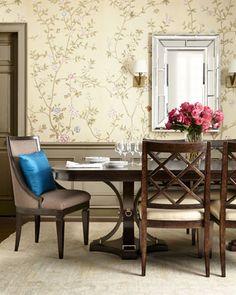 -4NG4  Merrilee Upholstered Sling Chair Merrilee China Cabinet Merrilee Buffet