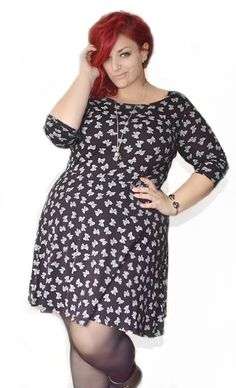 Curvy World: Sweet or Rock Plus Size Outfit