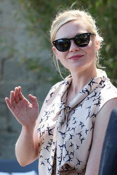 May 20, 2016 - Celebrity Sightings At The 69th Annual Cannes Film Festival Kirsten Dunst wearing Sheldrake Plus