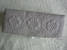 Quilting Stencils, Longarm Quilting, Free Motion Quilting, Machine Quilting, Embroidery Works, White Embroidery, Quilting Tutorials, Quilting Designs, Whole Cloth Quilts