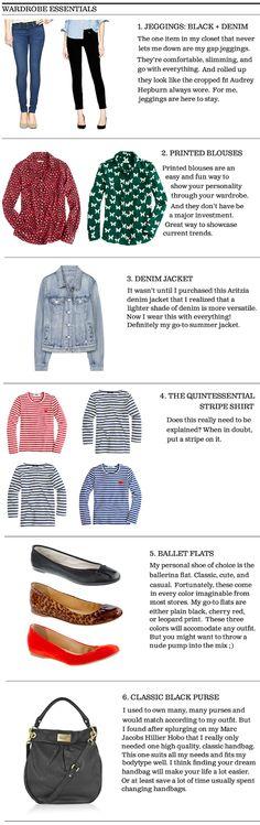 Wardrobe Essentials for a Timeless Closet #classicstyle #jcrew #aritzia #marcjacobs