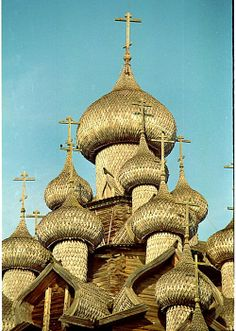Old Wooden Church in Russia by Carolyn Flynn by Staten Island Camera Club,  The Church of the Transfiguration, Kizhi Island, Russia