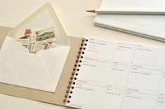 The Letter Ledger - keep track of your correspondence.
