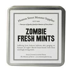 Zombie Fresh Mints Party Favor