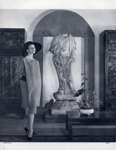 Balenciaga 1957 Chinese Decorative Arts