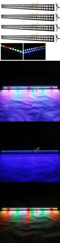 Lighting and Bulbs 46314: 4X 216W Dimmable Led Aquarium Light Bar Full Spectrum Reef Coral Fish Tank Plant BUY IT NOW ONLY: $229.78
