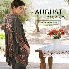 The August Preview - TAKE A SNEAK PEEK #johnnywas