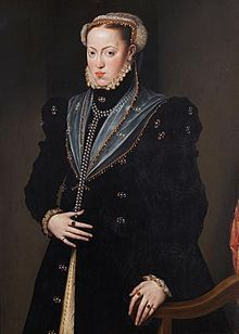 fille de charles quint, epouse son cousin Portrait de Marie d'Espagne.