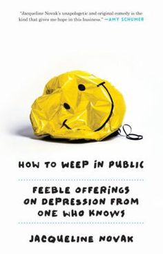 """Comedian Novak explores her personal experience with depression and offers tongue-in-cheek advice for fellow """"depressos"""" in this humorous, if somewhat grating, memoir. She traces the roots of her disease from her childhood, through her teenage years (often spent listening to motivational speaker Tony Robbins cassette tapes alone in her car), to being fired from her first post-grad job at a boutique advertising agency after sleeping for 28 hours and missing a day of work."""