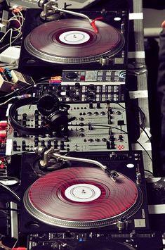 Martin's DJ set.