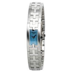#Tissot #Women's T50118540 T-Trend Blue Bracelet #Watch
