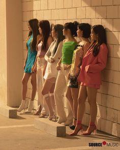 Check out GFriend @ Iomoio Gfriend Album, Sinb Gfriend, Kpop Girl Groups, Korean Girl Groups, Kpop Girls, Girlfriend Kpop, Group Poses, Cloud Dancer, Summer Rain