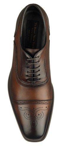 To Boot New York: Men's Aaron Dress Shoe in Brown