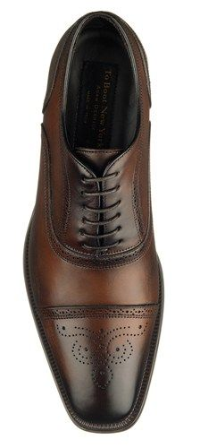 To Boot New York: Men's Aaron Dress Shoe in Brown