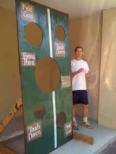 a few good pieces...: colossal modge podge fail (aka the football toss)