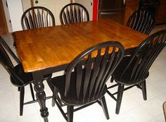 Better Together: Refinishing a Kitchen Table