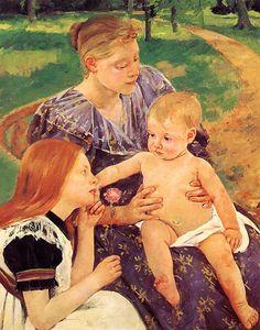 The Family  Mary Cassatt