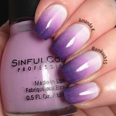 ombre nails♥