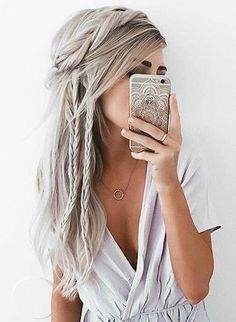 The Coolest Bohemian Hairstyles Options