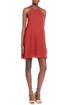 0519217cefa Everly High Neck Trapeze Dress available at  Nordstrom Dress Cuts