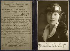 amelia earhart | amelia earhart s license to fly