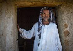 Bilen Tribe Man In Front Of His House, Keren, Eritrea   © Eric Lafforgue