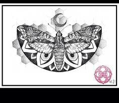I would LOVE to get this as an upper chest/collar bone piece. I love Hannah Snowdon's art❤️ #tattoo #tattoos