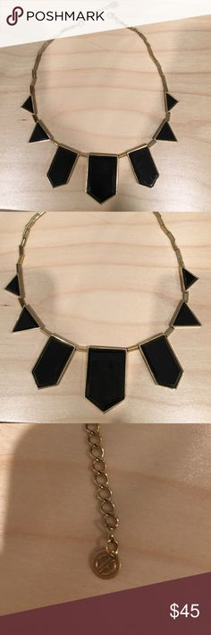 House of Harlow 1960 black and gold necklace House of Harlow 1960 black and gold necklace House of Harlow 1960 Jewelry Necklaces