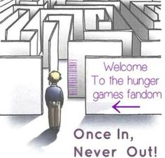 welcome to the Hunger Games fandom. once in never out :)