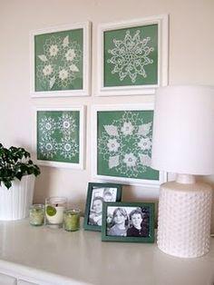Receitas de Crochet: Croche na decoração