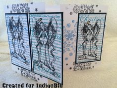 Birdcage Craft Studio Three panel card
