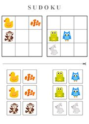 Very simple Sudoku for kids from four to six years outdated Number Writing Practice, Writing Numbers, Busy Bags, Puzzles For Kids, Math Activities, Diy For Kids, Education, Children, Simple