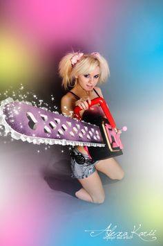 Alexa Karii - Lollipop Chainsaw cosplay