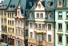 #Mainz, Germany - #Baroque houses