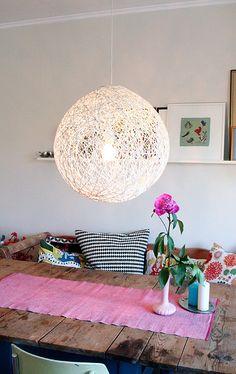 DIY lamp como random light moooi