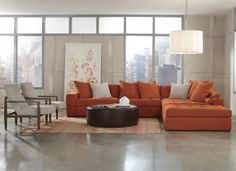 This Jonathan Louis sectional is the perfect place to get comfy and catch up on your : jonathan louis elliot sectional - Sectionals, Sofas & Couches