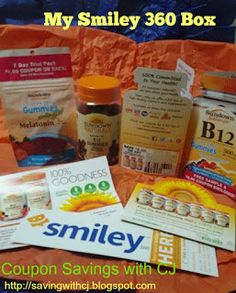 Coupon Savings with CJ: Free Stuff. Free samples and full size products from smiley.
