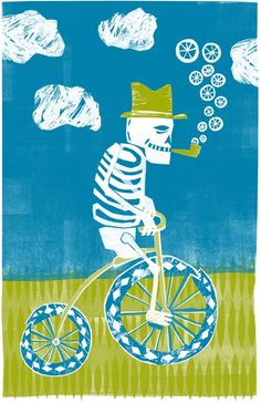 Art Crank - Skeleton byy Santiago Uceda