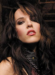 Lzzy Hale   That girl is hot!!!! Her voice is incredible, she can roar and plays guitar too.
