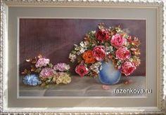 Валентина Разенкова (Дрягина) - Картины вышитые лентами и собранные в композицию.   OK.RU
