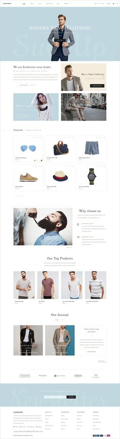 Fashionist is beautiful #PSD #template for multipurpose #eCommerce website with 5 homepage layouts and 25 organized PSD pages download now➯ https://themeforest.net/item/fashionist-fashion-ecommerce-psd-template/17224729?ref=Datasata